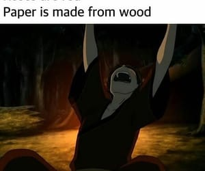 avatar, bad, and fire image