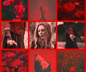 aesthetic, fandom, and red image