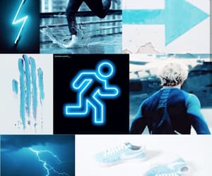 aesthetic, Marvel, and quicksilver image