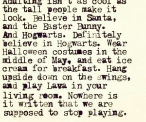 easter bunny, play, and quotes image
