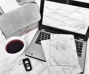 bag, coffee, and apple image