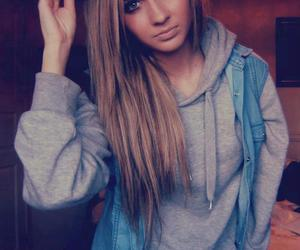 girl, swag, and blonde image