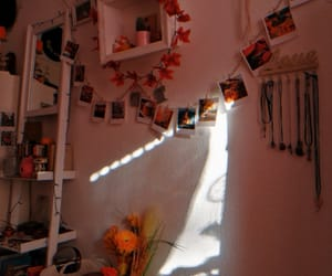 autumn, bedroom, and cactus image