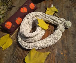 autumn, cozy, and yarn image