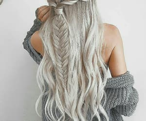 hair, girl, and goals image