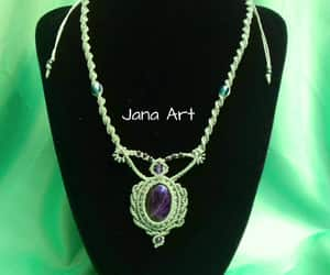 handmade, necklace, and crystal healing image