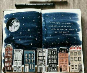 art, quotes, and stars image