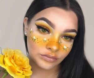 fashion, girl, and make-up image