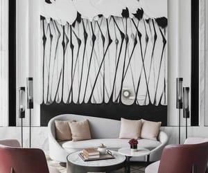 design, elegant, and living room image