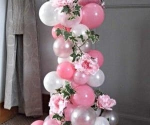 light up balloons and wedding balloons image