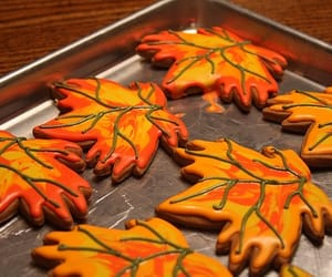 autumn, Cookies, and yummy image