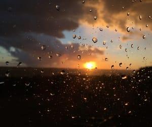 autumn, lovely, and rain image
