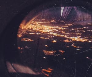 city, flight, and madrid image