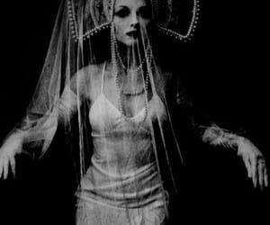 dark, goddess, and horror image