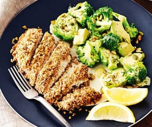 Chicken, food, and healthy image