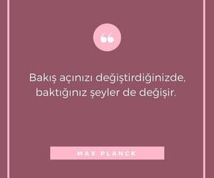 max planck, alıntı, and türkçe sözler image