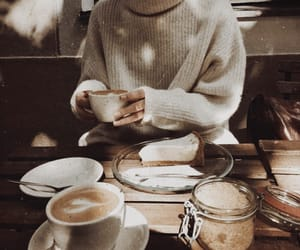 coffee, autumn, and breakfast image