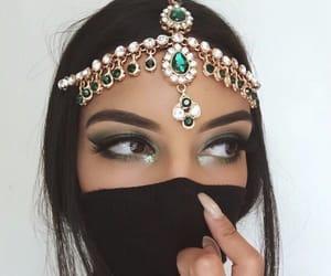 beauty, nails, and eyes image