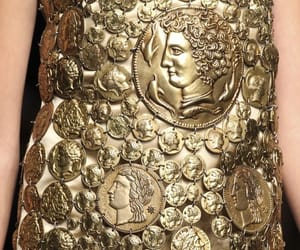 Dolce & Gabbana, gold, and fashion image