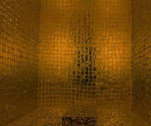 art, gold, and james lee byars image