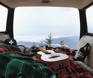 guitar, nature, and travel image