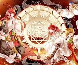 aladdin, kougyoku, and magi image