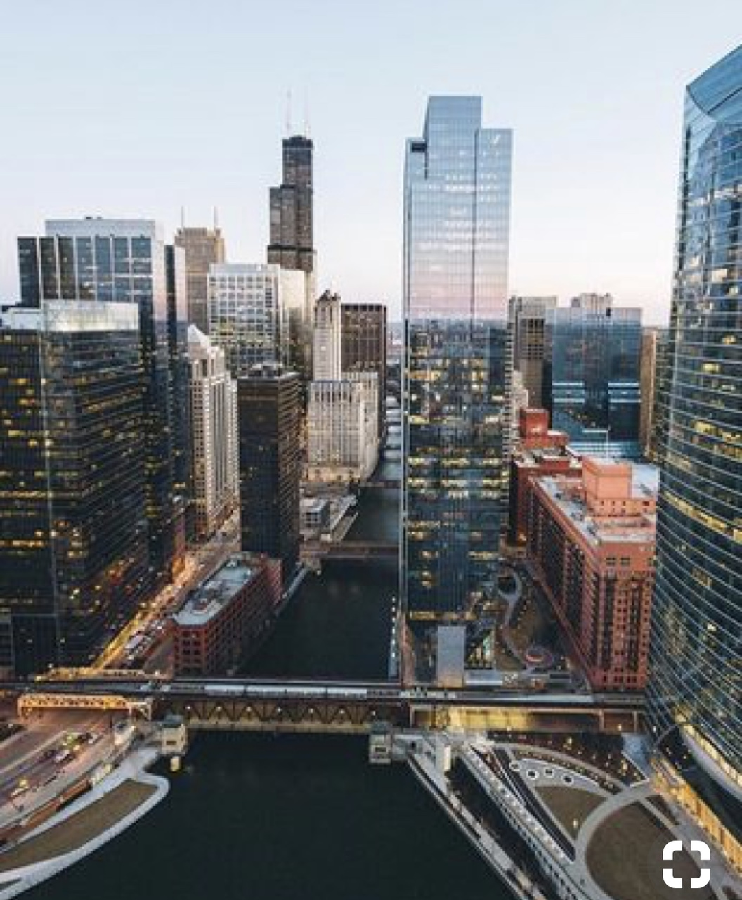 chicago, city, and town image