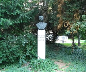 poet, zagreb, and statue image