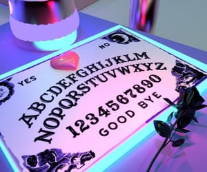 ouija, neon, and aesthetic image