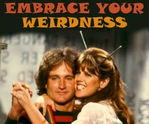 robin williams and mork & mindy image