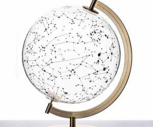 globe, stars, and constellation image