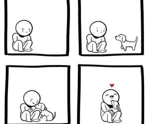 dog, true love, and vegan image