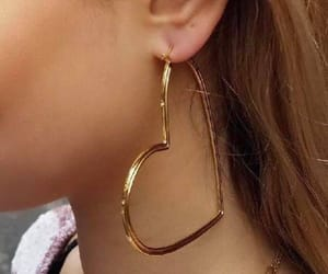 accessories, earrings, and girly image