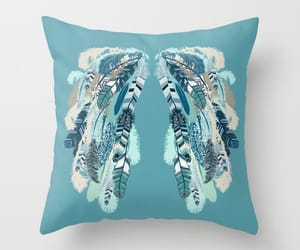 Angel Wings, etsy, and throw pillow image