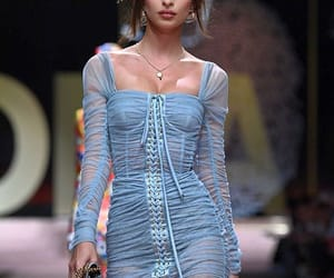fashion, Dolce & Gabbana, and emily ratajkowski image