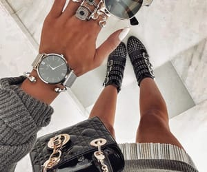 bag, fashion, and rings image