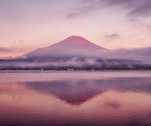 beauty, lake, and mountain image