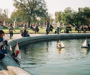 boat, vintage, and indie image