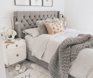 bedroom, decoration, and quarto image