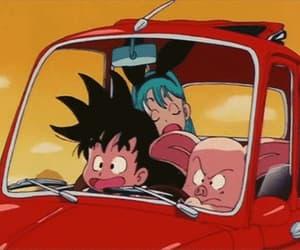 aesthetics, car, and dragon ball z image