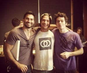 tyler hoechlin, derek hale, and teen wolf image