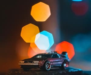 aesthetic, back, and delorean image