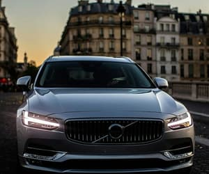 car, volvo, and driving image