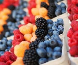 food, healthy food, and berries image
