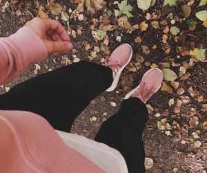 adidas, clothes, and leaves image