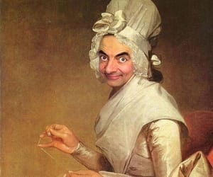 funny, mr bean, and art image