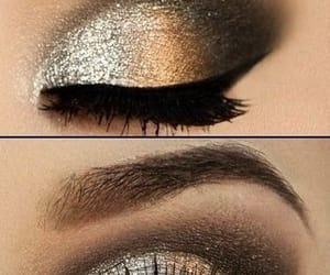 argento, glitter, and make up image