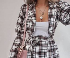 plaid, skirt, and cute image