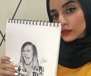 fashion, sketch, and art image