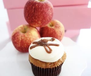 apple, bakery, and cake image